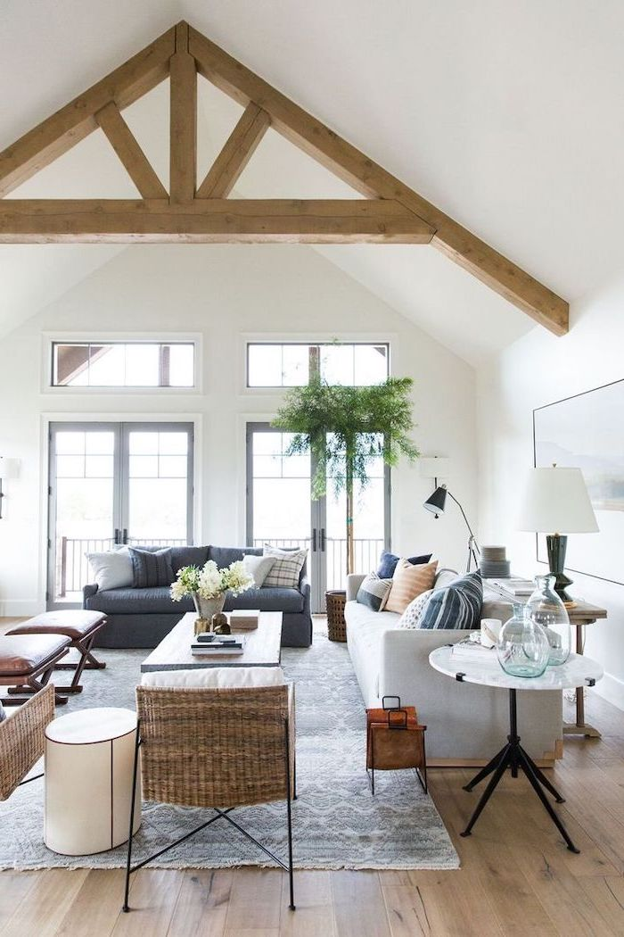 1001 ideas for a vaulted ceiling