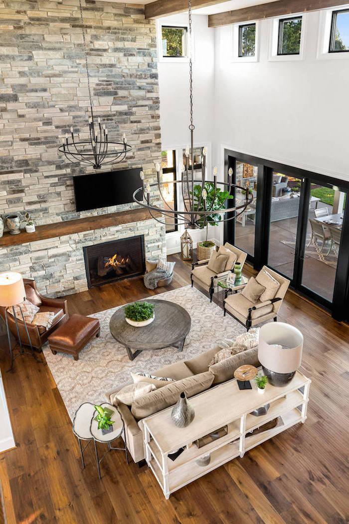 1001+ ideas for Modern Farmhouse Living Room Decor
