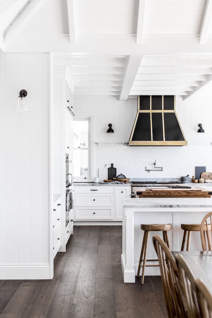 1001 Ideas For A Modern Farmhouse Kitchen Decor