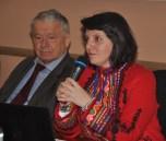 Директор Інституту економіки та прогнозування В.Геєць та Європейський координатор Via Campesina Ramona Duminicioiu