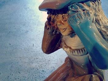 Escultura mujer