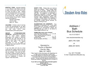 Appendix A Transit Schedule Addison to Bath - Appendix_A_Transit_Schedule_Addison_to_Bath
