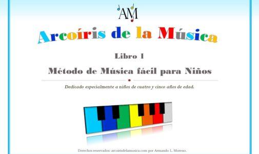 libro de música para niños pequeños