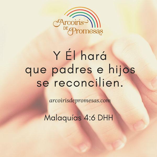 Reconciliación Entre Padres E Hijos Arcoiris De Promesas