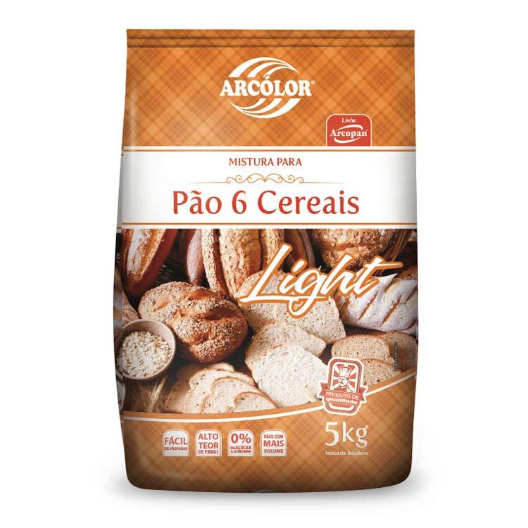 Kit Mistura para Pão de 6 Cereais