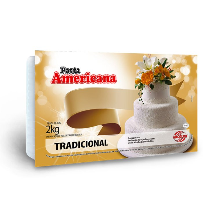 Pasta Americana Tradicional 2kg