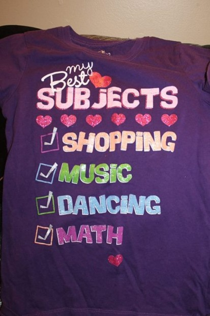 Childrens Place Best Subject T shirt