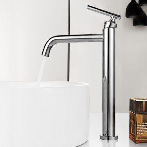 robinet de salle de bain mitigeur