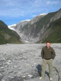 Will in New Zealand before starting his journey as a life coach