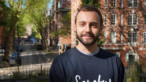 George works at mental health organisation Sanctus