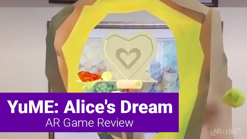 YuME: Alice's Dream AR game