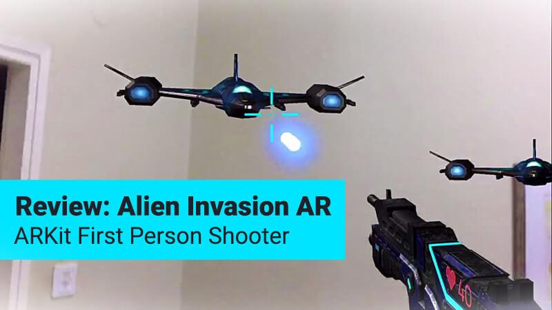 Alien Invasion AR game