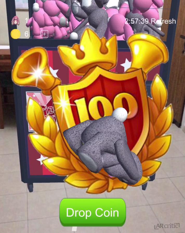 CrazyToysAR Review - Claw Crane Arcade Game Machine in AR