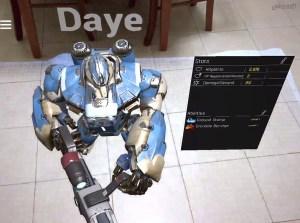 Daye champion stats screen