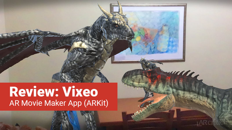 Vixeo AR Movie Maker app
