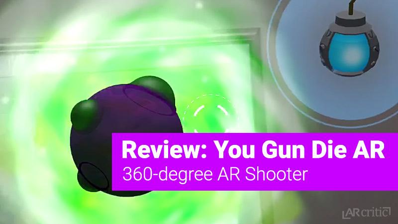 You Gun Die AR iOS game