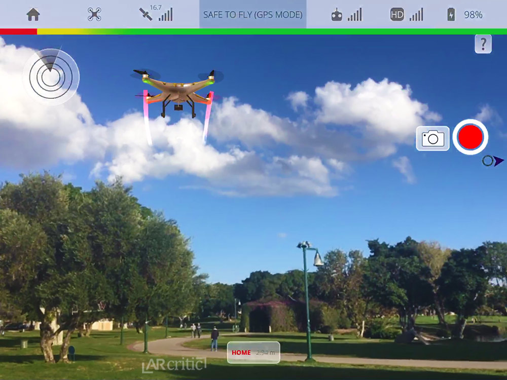 DroneTopolis AR - Drone Flight Simulator in Augmented Reality