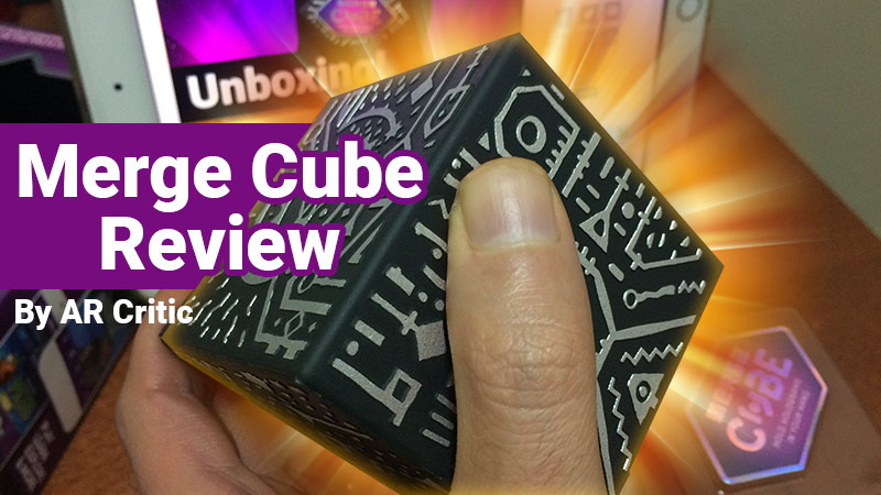 Merge Cube Review banner