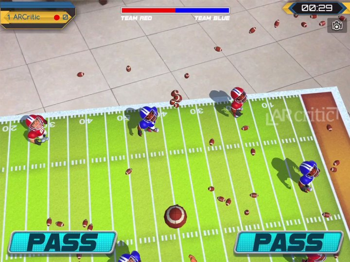 Pass ball game mode, Virtex Arena