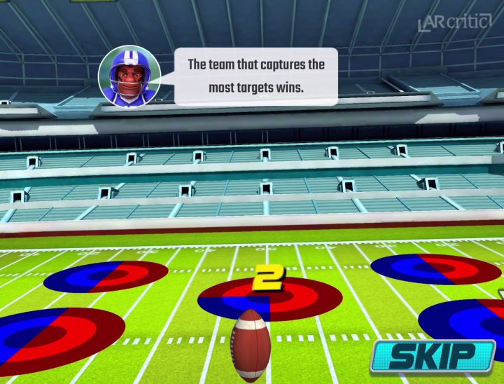 Kick Ball game mode Virtext Arena