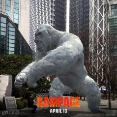Rampage George the gorilla in augmented reality