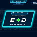 Pilot grade E to D