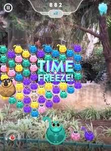 Catty Crush freeze time power-ups