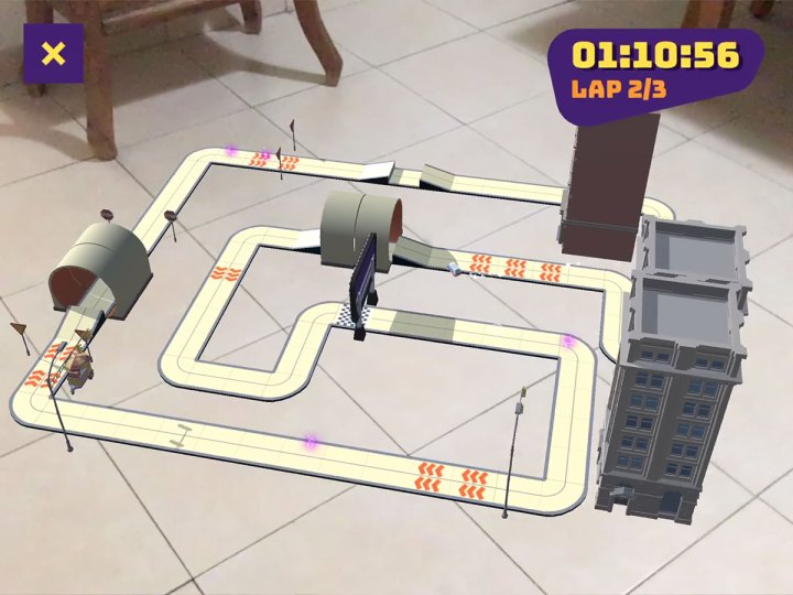 Room Racer AR game