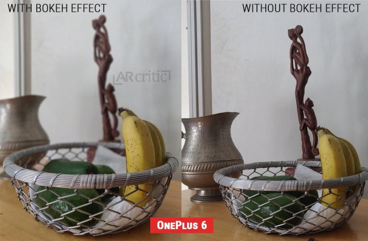 OnePlus 6 Bokeh effect