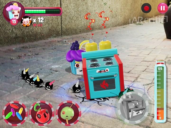 Pest Invasion AR game screenshot