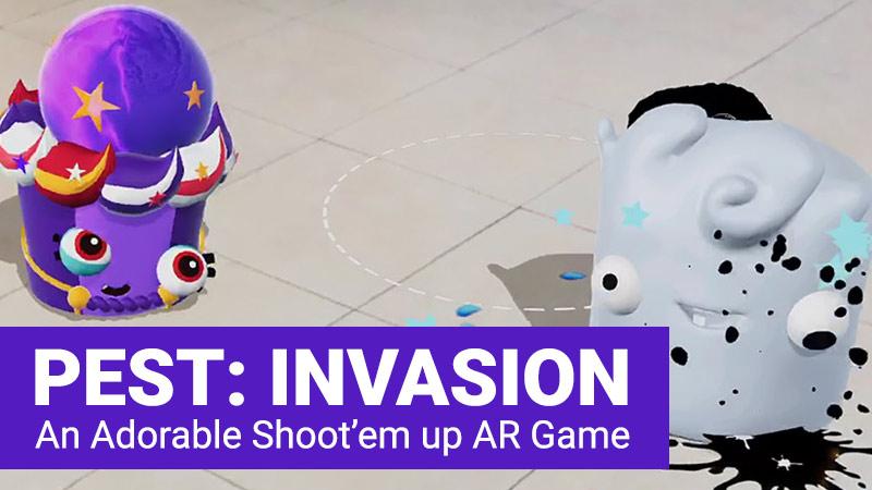 Pest Invasion AR game
