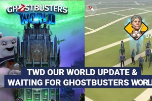 First week playing TWD Our World and Waiting for Ghostbusters World