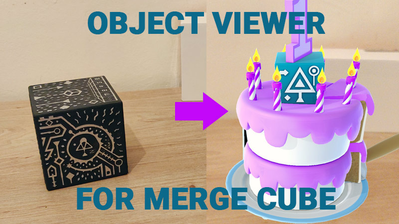 Object Viewer for Merge Cube