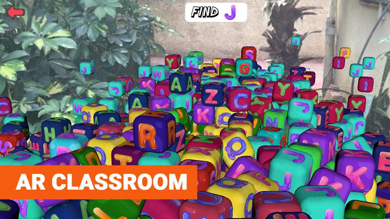 AR classroom