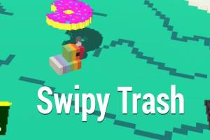 Swipy Trash – Educational AR Game about Animals and the Environment