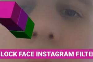 Block Face Instagram Filter – AR Selfie Block Building Game