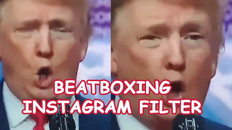 Beatboxing Instagram filter