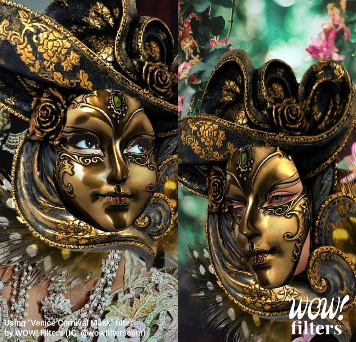 Venice Carnival Instagram filter 2019