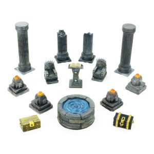 Throne Room / Purification Room Set 28mm – 8 STL Files