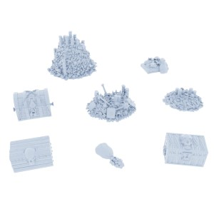 Forgotten Treasures Model Set – 8 Pieces