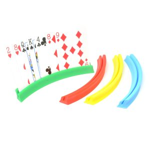 4 Curved Playing Card Holders