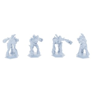Stone Golems 4 Piece Set