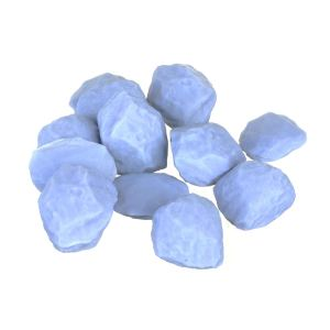 12 Pack  HD Series: Miniature Rocks and Pebbles Model Set 28mm