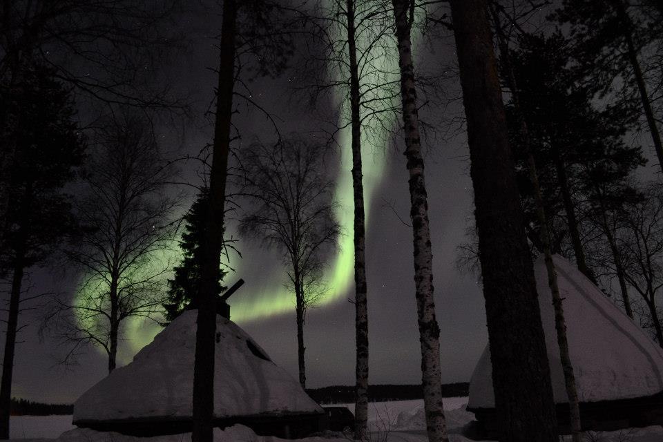 Saison aurores boréales