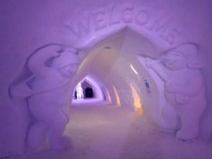 Restaurant de glace Rovaniemi