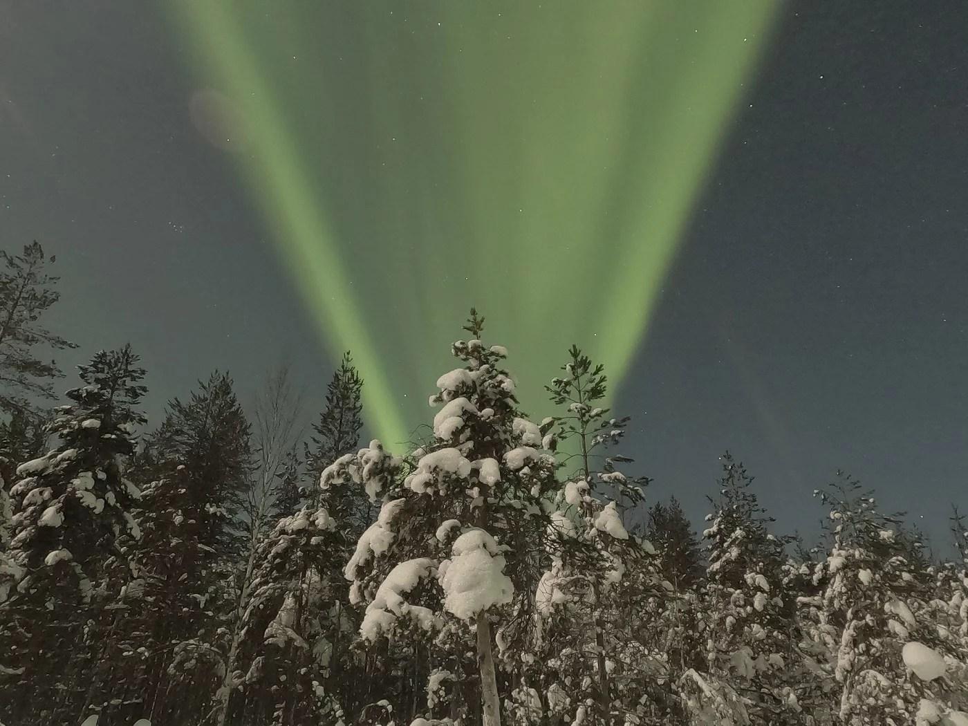 Aller voir les aurores boréales en Laponie