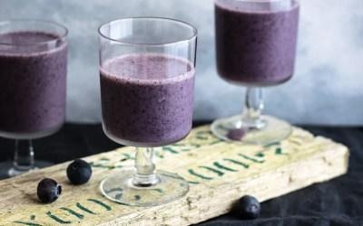 Heavy Metal Detox Smoothie Recipe – with Wild Blueberries or Wild Blueberry Powder
