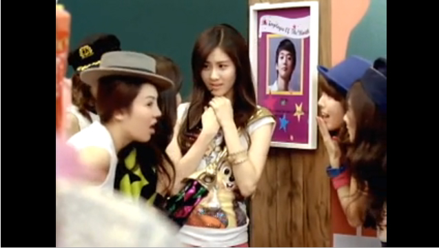 a scene from a music video of Girls Generations