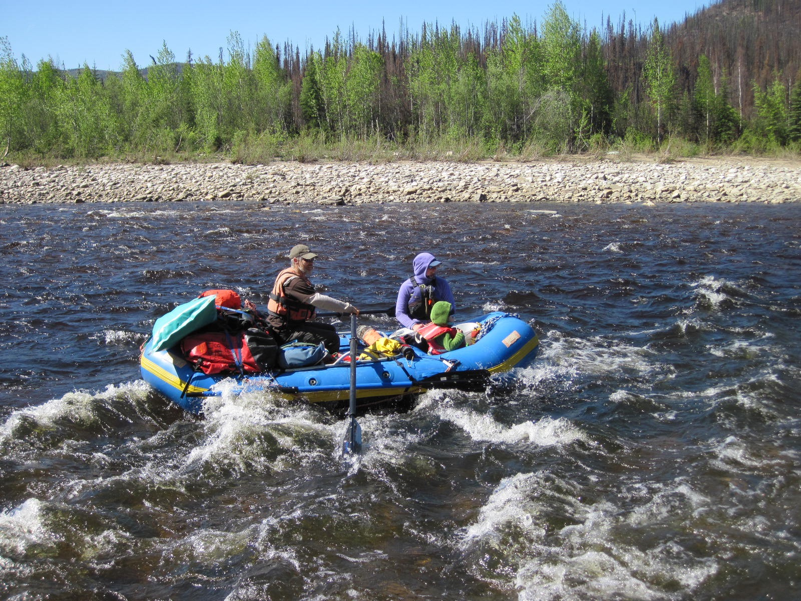 Raft Rentals and Trip Equipment