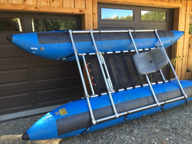 16' Cat Fairbanks Alaska Raft Rentals